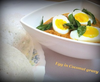 Egg In Coconut Gravy