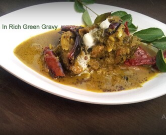 Fish in Rich Green Gravy