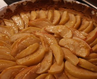 Fransk äppelpaj, French apple pie, ranskalainen omenapiiras