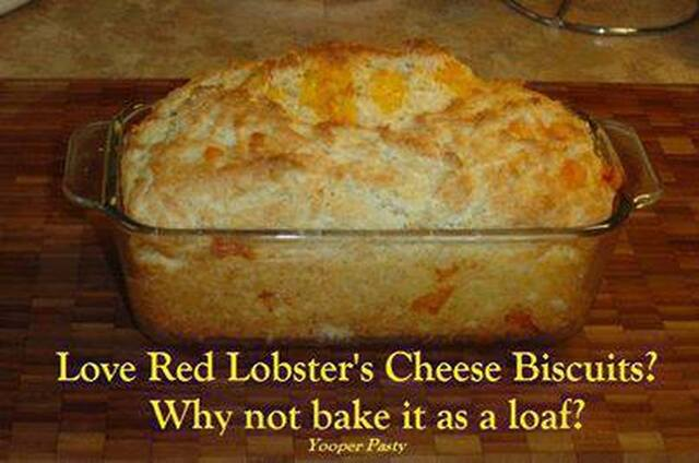 RED LOBSTER'S CHEESE BISCUITS IN LOAF FORM