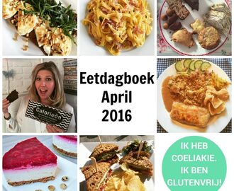 Eetdagboek: April 2016