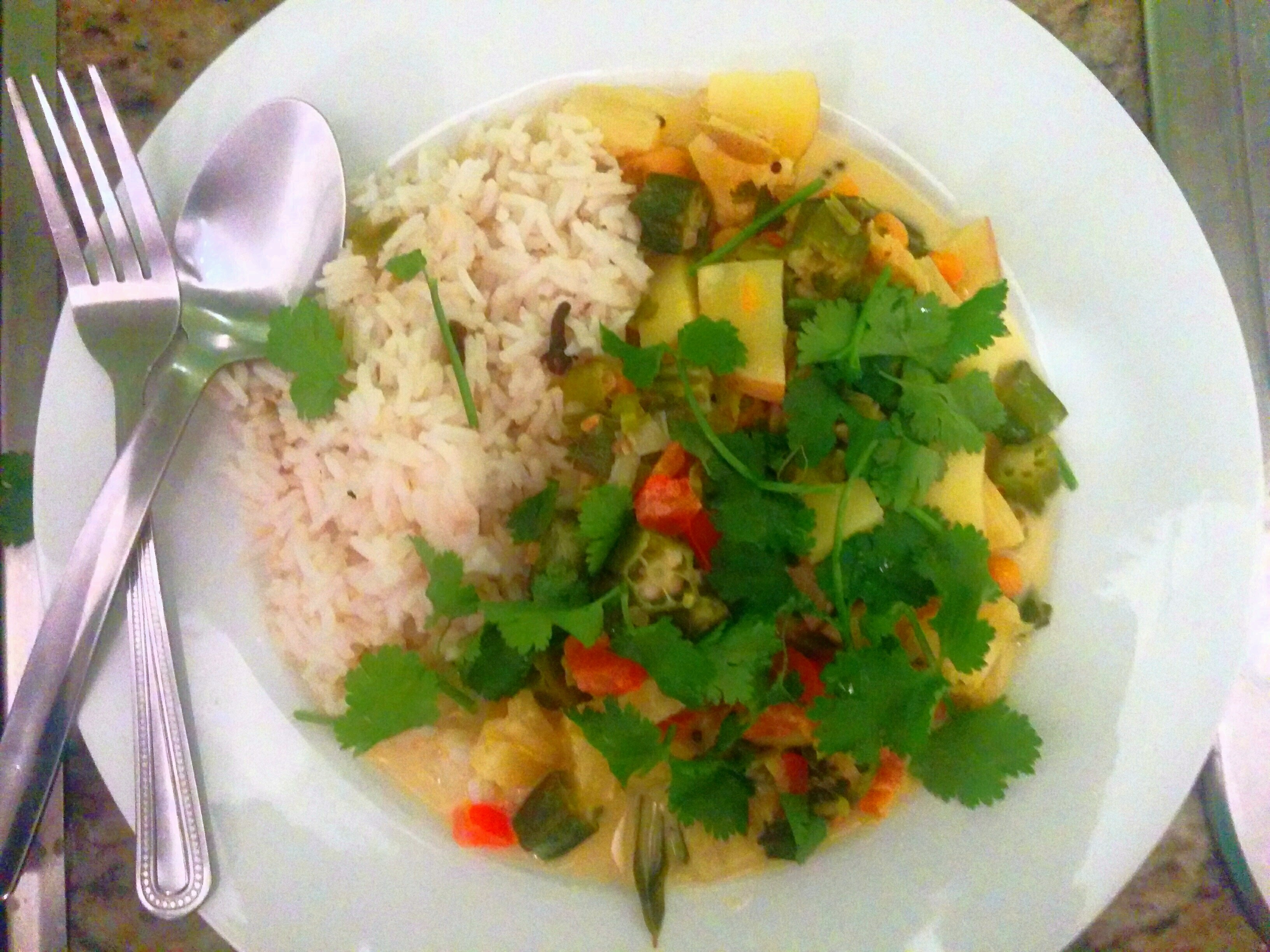 Vegetarian Keralan Curry