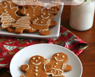 Classic Gingerbread Men – Low Carb and Gluten-Free