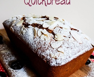 Amaretto & Cherry Quickbread
