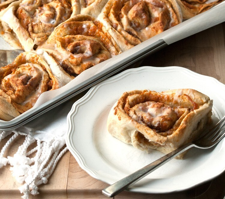 Easy Sweet Potato Rolls