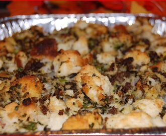 Sausage Stuffing for Turkey