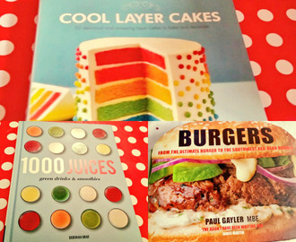 Burgers, Cool Layer Cakes and 1000 juices, Review and Giveaways