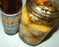 Pale Ale Brined Eggs (Beer Pickled Eggs)