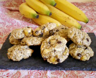 COOKIES AVOINE BANANE AUX 2 CHOCOLATS