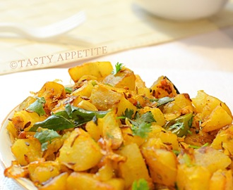 How to  make Sweet Potato Masala ? / Sweet Potato Masala Fry: