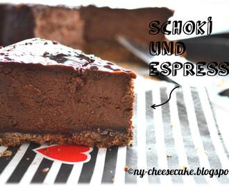 Say Cheese Teil 3: Chocolate Espresso Cheesecake