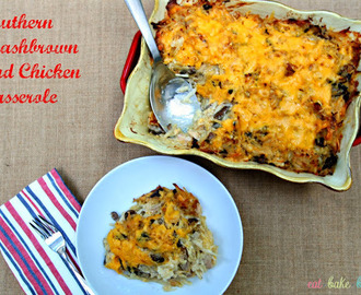 Southern Hashbrown and Chicken Casserole