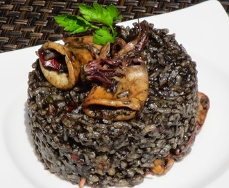 Arroz negro con chipirones olla GM