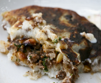 Potato Cakes With Ground Beef And Pine Nuts