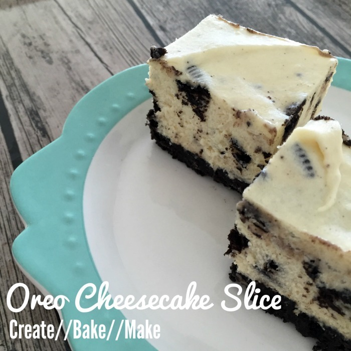 Oreo Cheesecake Slice and new friends