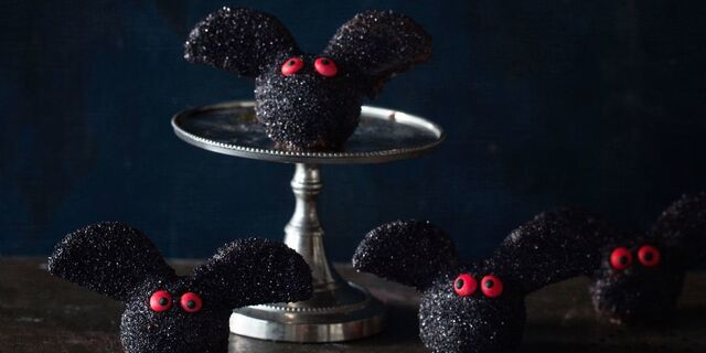 Brownie Bat Truffles