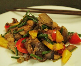 Paleo Chinese Fish Stir Fry