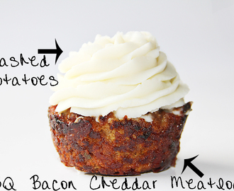 BBQ Bacon Cheddar Meatloaf, Sandwich or Cupcake?!?!
