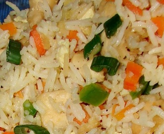 HOW TO COOK CHINESE STYLE FRIED RICE
