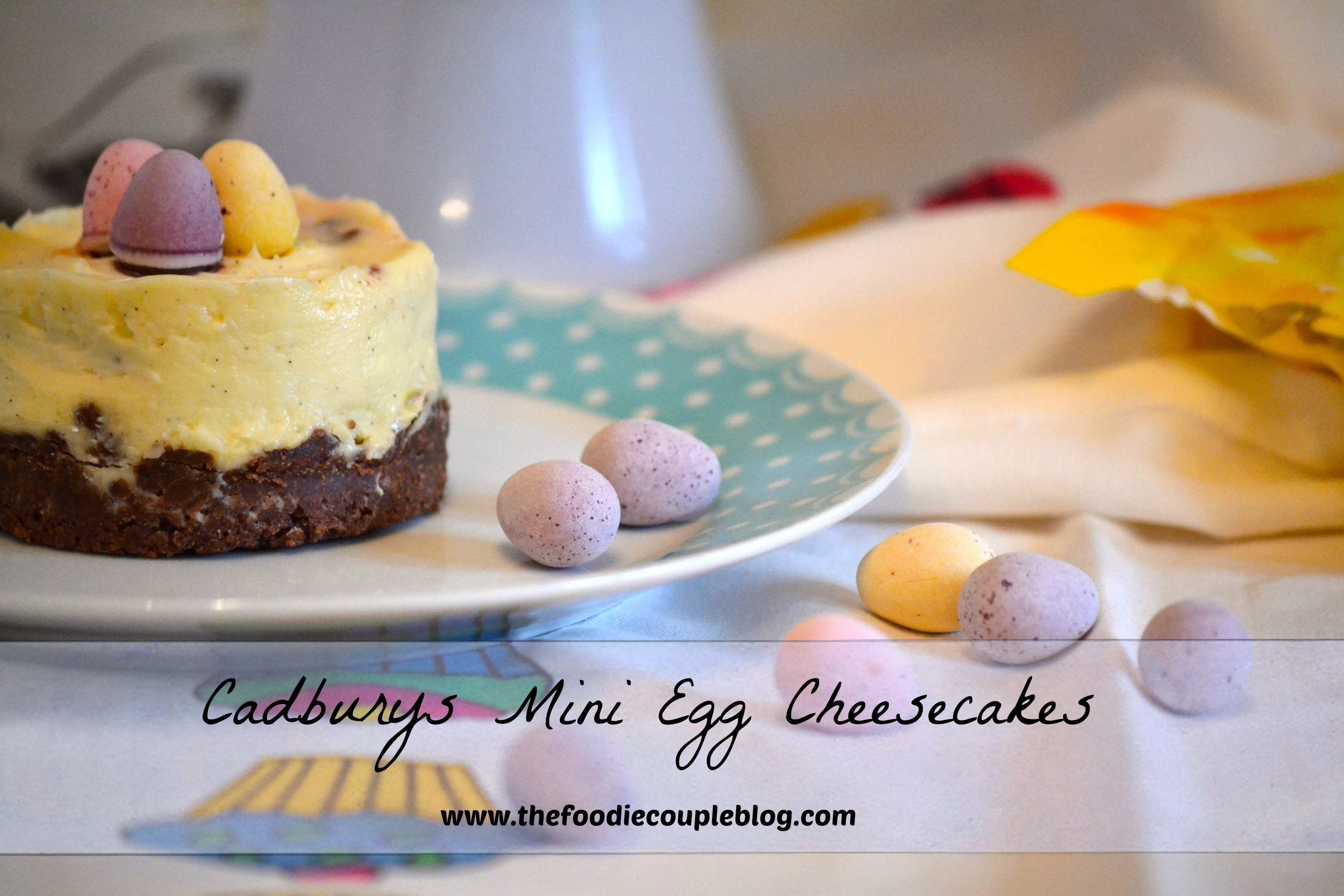 Mini Egg Cheesecakes