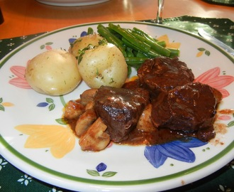 Julia Childs' Famous Boeuf Bourguignon