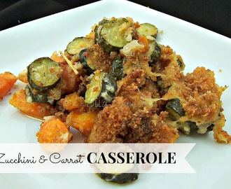 Zucchini & Carrot Casserole from Melissa's Baby Veggie Basket