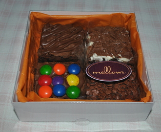 Brownies deliciosos da Mellows