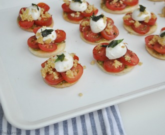High tea: Tomaten-mozzarella tarteletjes