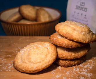 Coconut and Lemon Cookies (gluten, dairy and egg free!)