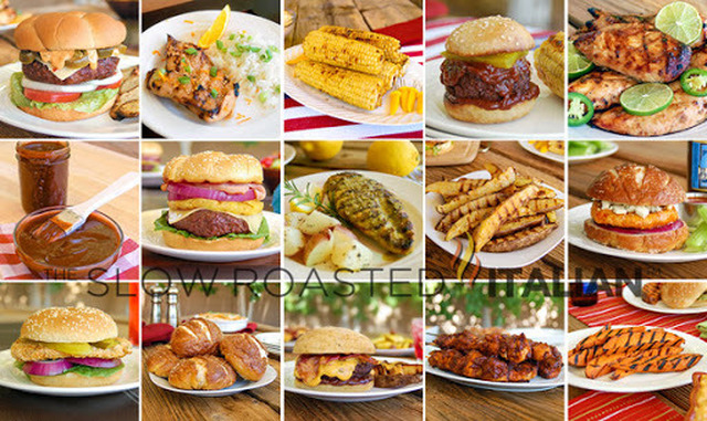 50 Perfect Dishes for your Labor Day Party - Burgers, Grilled Chicken, Sides and More