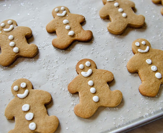 Eatons Style Gingerbread Men