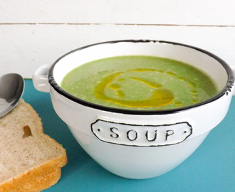 Healthy Pea and Mint soup