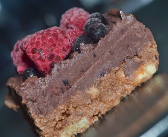 Raw brownie :)