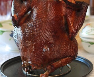 Holiday Apple Wood Smoked Turkey