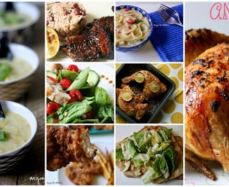 8 Popular Chicken Recipes from Anyonita Nibbles