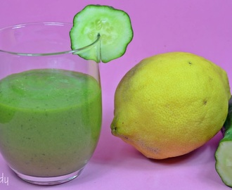 Receta Light | Smoothie Verde de Pepino