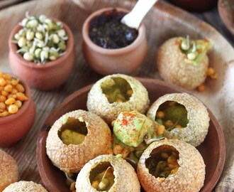 Gulp And Gone! Avocado Pani Puri.