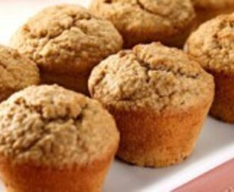 Muffin Light de Banana e Aveia