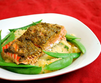 BAKED LEMON SALMON