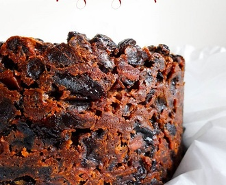 Brandy Soaked Christmas Cake