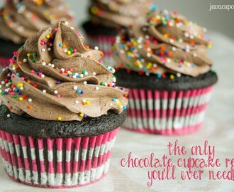 The Only Chocolate Cupcake Recipe You'll Ever Need!