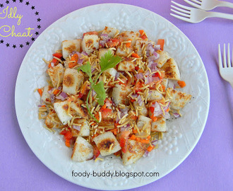 Idly Chaat | Chaat With Leftover Idly | Indian Tea Time Snack