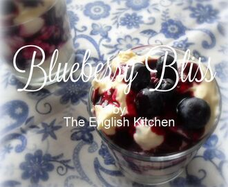 Blueberry Bliss Dessert
