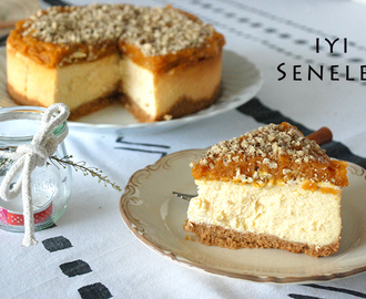 Balkabaklı Cheesecake - New York Style Modification