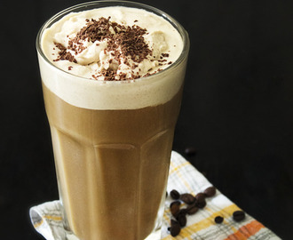 Iced Coffee with Cardamom Whipped Cream