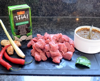 Rendang Daging – Rindscurry mit roten Chili