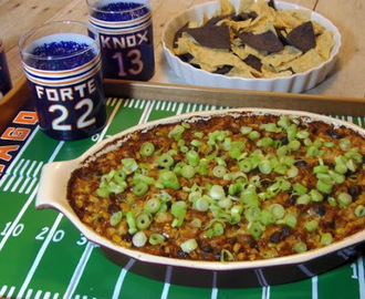 Corn And Black Bean Dip ~ Tailgating for #SundaySupper