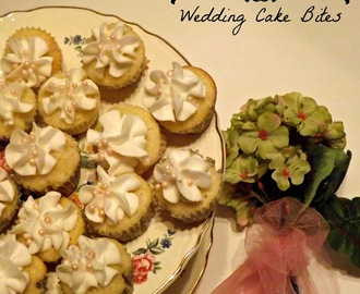 Wedding Cake Bites