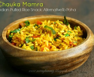 Chauka Mamra/Moodi: Puffed Rice Snack: Alternative To Poha