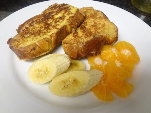 Weekend food diary: Yummy French toast recipe